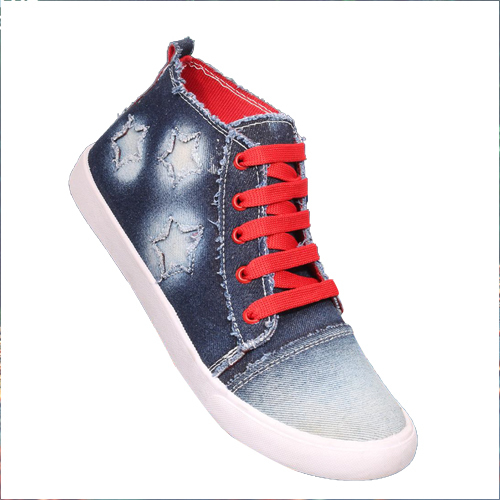 Canvas Ankle Shoes
