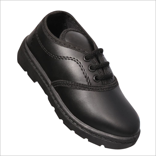 School Black Shoes