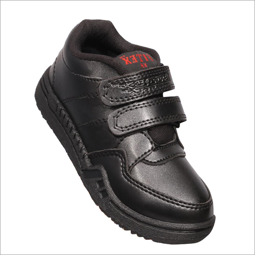 Velcro Black Shoes