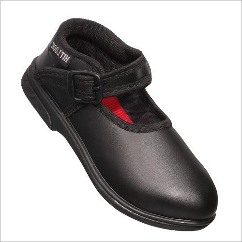 Black School Belly Shoes