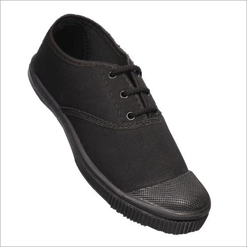 School Black PT Shoes