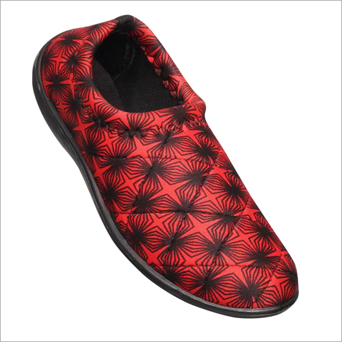 Ladies Fabric Slip On Shoes