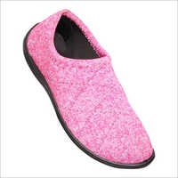Pink Slip On Shoes