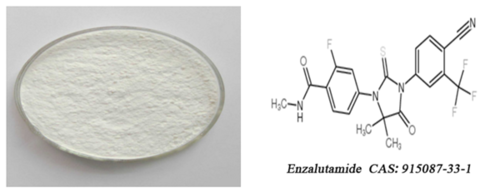 MDV3100 EnzalutaMide Powder