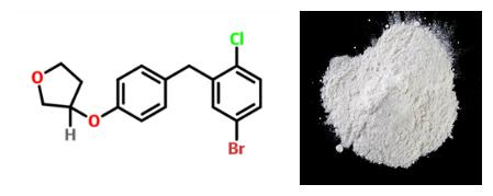 Empagliflozin intermediate derivative (3s)-3-[4-[(5-bromo-2- chlorophenyl)methyl]phenoxy]tetrahydro-furan 915095-89-5