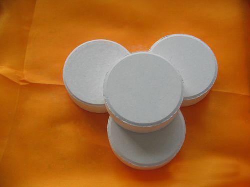 Trichloroisocyanuric acid (abbreviation: TCCA)
