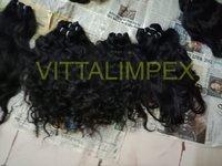 Weft Temple Human Hair