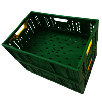 Fordable Plastic Mesh Crate