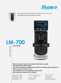 Supore LM-700 Auto Lens Meter