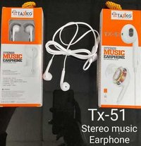 Tx- 51 (Stereo Music Earphone)