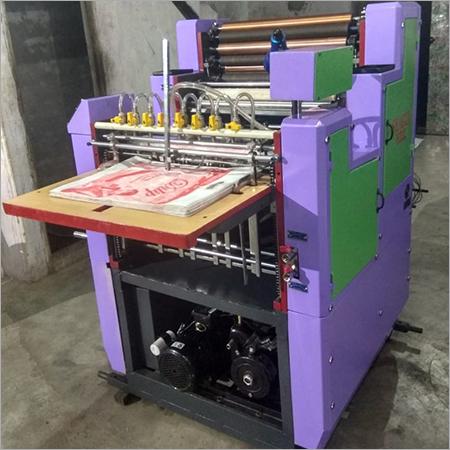 Semi Automatic Mini Offset Machine