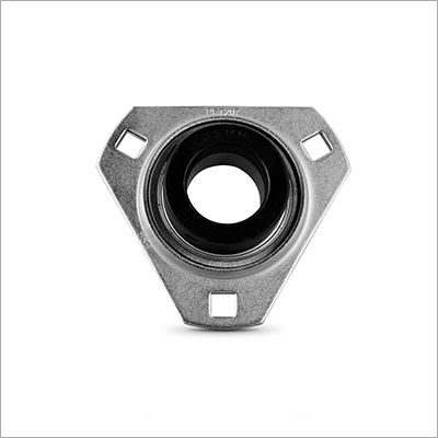 Triangle Flange Unit Pressed Steel Mounted Bearing