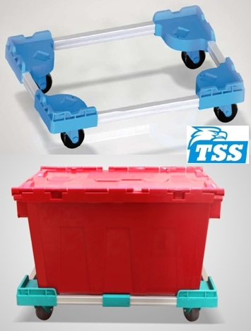 Plastic Moving Dolly for Easy Movement 570X370X130mm
