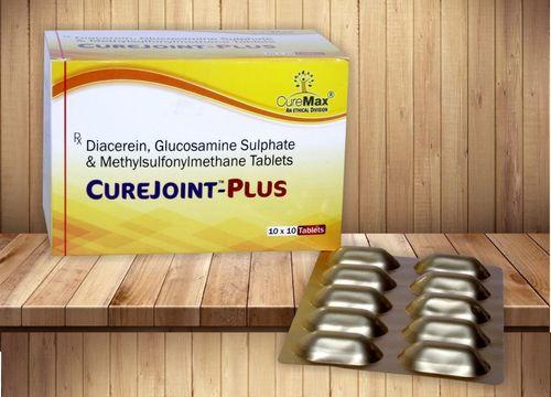 Diacerein 50 Mg, MSM 250 Mg & Glucosamine 750 Mg