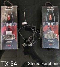 Tx-54 Stereo Earphone