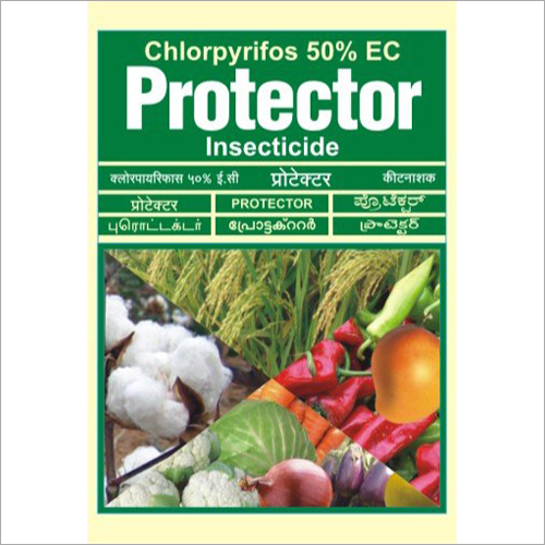 Chlorpyrifos 50 Percent EC Insecticide