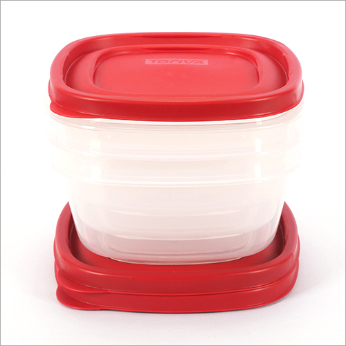 1200 ml Plastic Storage Container 3 Pcs Set