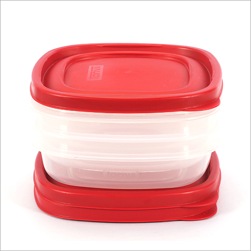 700 ml Plastic Food Storage Container 3 Pcs Set