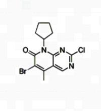 Palbociclib Intermediate 6-broMo-2-chloro-8-cyclopentyl-5-Methylpyrido[2,3-d]pyriMidin-7(8H)-one CAS 1016636-76-2