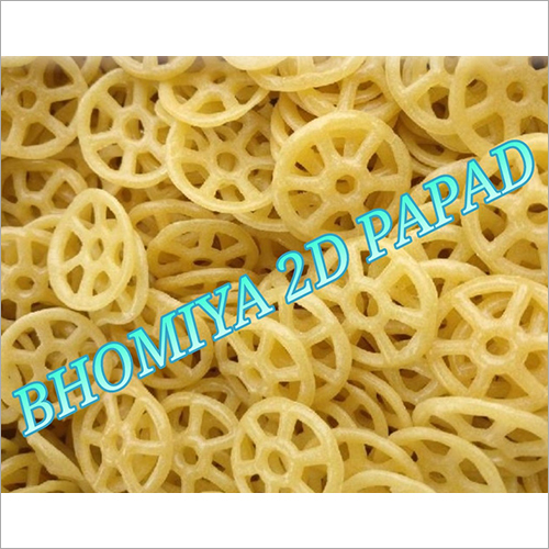 2D Wheel Papad