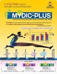 Diclofenac Pot. 50 mg, Nimesulide 100 mg & Tizanidine 2 mg Tablets