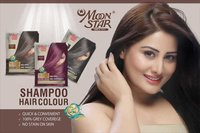 Moon Star 5 min Shampoo hair color