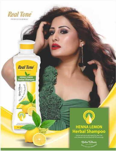Realtone Henna Lemon Herbal Shampoo