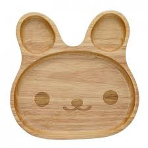 Palm Leaf Bear Shape Plate