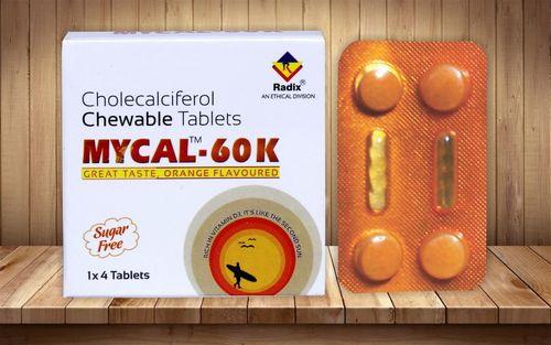 Cholecalciferol( Vit-d3 ) 60.000 I.U Mouth Dissolving Tablet