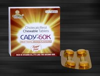 Cholecalciferol( Vit-d3 ) 60.000 I.U Mouth Dissolving Tablet