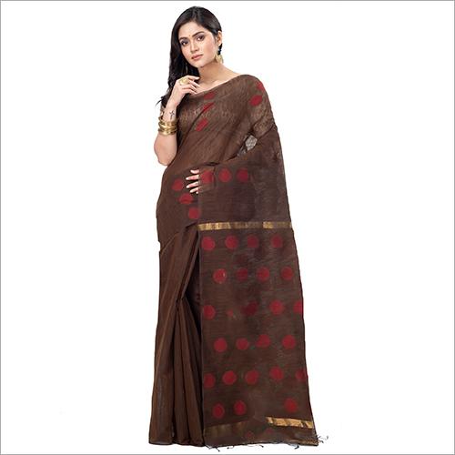 Ladies Fancy Blended Cotton Saree