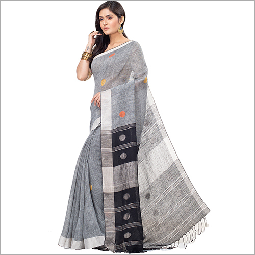 Ladies Soft Linen Saree