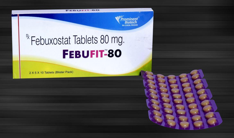 Febuxostat 40 mg & 80 mg