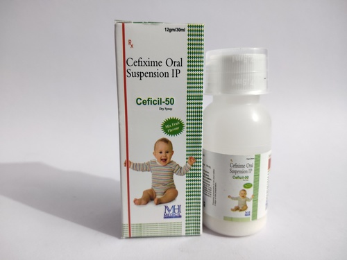 Dry Syrup Cefixime 50