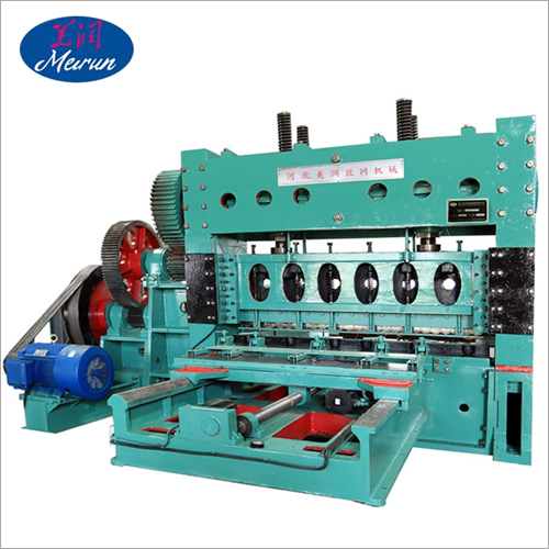 High Efficiency Expanded Metal Mesh Machine