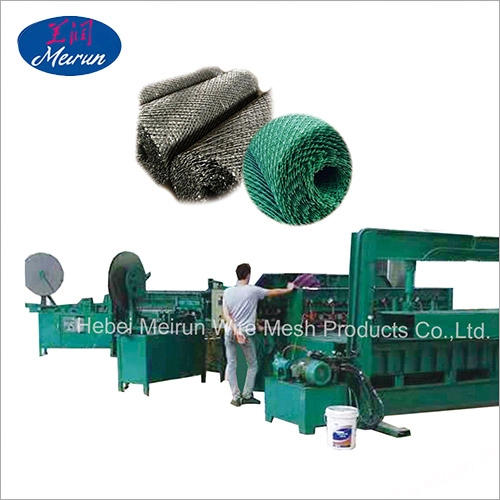 Welded Tangle Razor Wire Machine
