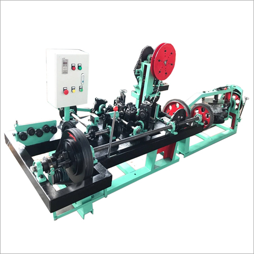 Automatic Barbed Wire Making Machine