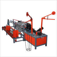 Automatic Double Wire  Chain Link Fence Machine