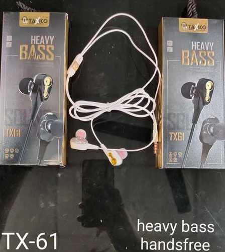 Tx-61 (Heavy Bass) Earphones