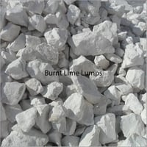 Burnt Lime Lumps