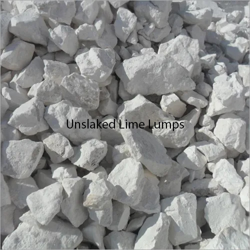Unslaked Lime Lumps