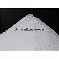 Unslaked Lime Powder