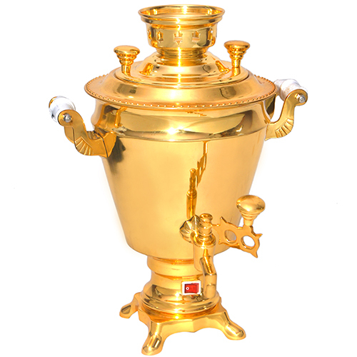 Brass Gold Samovar