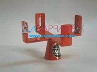 Cross Vertical Staff Brass
