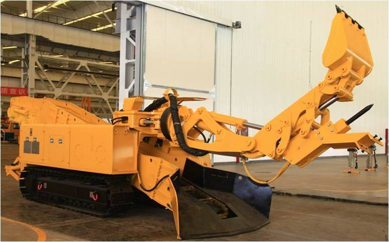 Wpz-45/400 Multi Function Flameproofed Underground Roadway Repair And Maintenance Machine