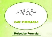 2,6-difluoro-3-(propylsulfonamido)benzoic acid 1103234-56-5