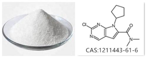 7H-Pyrrolo[2,3-d]pyriMidine-6-carboxaMide, 2-chloro-7-cyclopentyl-N,N-diMethyl ribociclib intermediate CAS :1211443-61-6