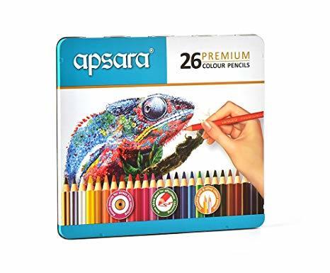 Apsara Premium Pencil Colour-26 Shades