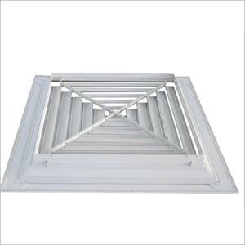 4 Way Square HVAC Damper