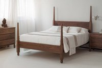 Solid wood bed cinderella